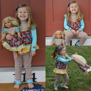 Matilda Jane Outfit Silly Goose Top & Brushwood